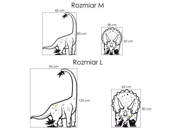 dinozaury naklejki ścienne