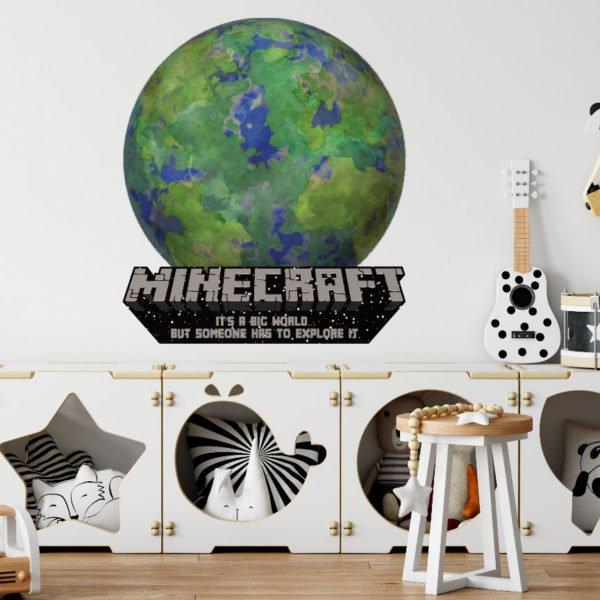 Naklejka Minecraft