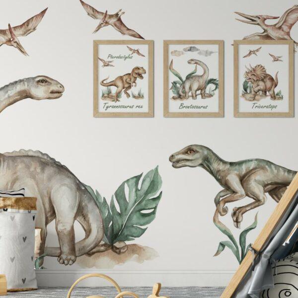 Brontozaur naklejki na ścianę