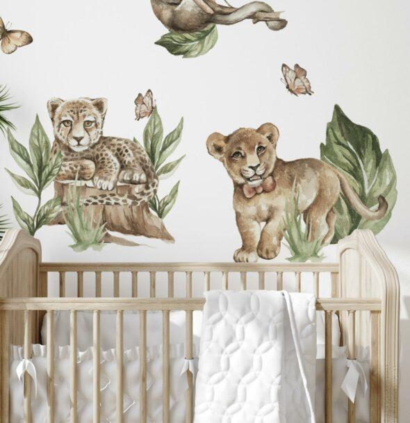 Naklejka dla dziecka nad łóżeczko